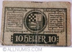 Imaginea #2 a 10 Heller 1920 - Schärding