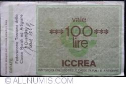 Imaginea #2 a 100 Lire 1977 (31. I.) - Roma