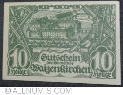 Imaginea #1 a 10 Heller 1920 - Waizenkirchen