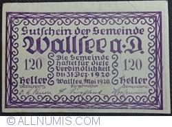 120 Heller 1920 - Wallsee
