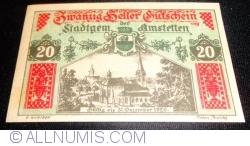 20 Heller ND - Amstetten