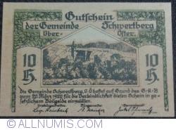 Imaginea #1 a 10 Heller 1920 - Schwertberg