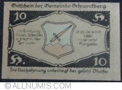Imaginea #2 a 10 Heller 1920 - Schwertberg