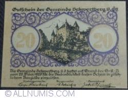 Imaginea #1 a 20 Heller 1920 - Schwertberg