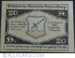 Imaginea #2 a 20 Heller 1920 - Schwertberg