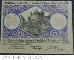 Imaginea #1 a 50 Heller 1920 - Schwertberg