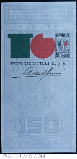 150 Lire 1977 (15. VI.) - Bergamo