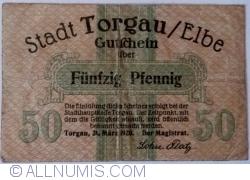 Image #1 of 50 Pfennig 1920 - Torgau
