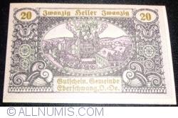 Imaginea #1 a 20 Heller 1920 - Eberschwang