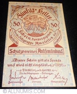 Image #1 of 50 Heller 1920 - Amstetten