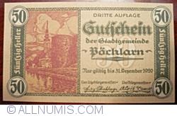 Image #1 of 50 Heller 1920 - Pöchlarn