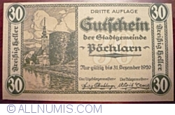 Image #1 of 30 Heller 1920 - Pöchlarn