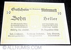 Image #1 of 10 Heller 1920 - Blindenmarkt