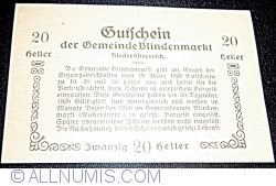 Image #2 of 20 Heller 1920 - Blindenmarkt