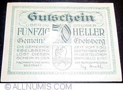 Imaginea #2 a 50 Heller ND - Ebelsberg