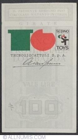 100 Lire 1977 (28. I.) - Bergamo