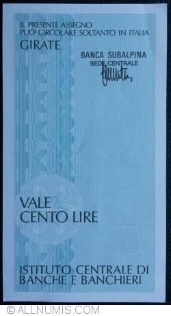 Imaginea #2 a 100 Lire 1977 (5. VII.) - Milano