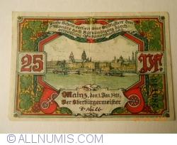 Image #1 of 25 Pfennig 1921 - Mainz