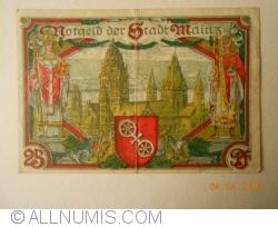 Image #2 of 25 Pfennig 1921 - Mainz