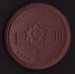 Eisenach - 1 Mark 1921