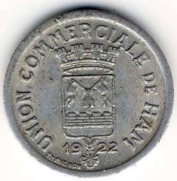 Imaginea #2 a 10 Centimes 1922
