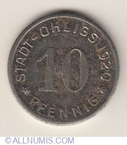 Imaginea #1 a 10 Pfennig 1920 - Ohligs