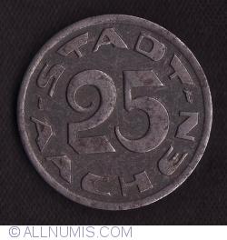 Image #1 of 25 Pfennig 1920 - Aachen