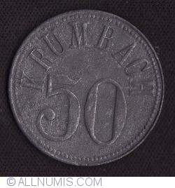 Image #1 of 50 Pfennig 1918 - Krumbach