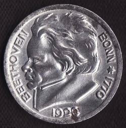 Image #2 of 10 Pfennig 1920 (Beethoven) - Bonn