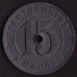 Image #1 of 15 Pfennig 1918 - München