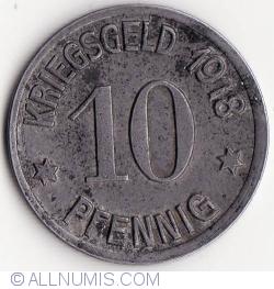 Image #1 of 10 Pfennig 1918 - Koblenz