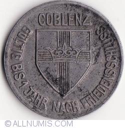 Image #2 of 10 Pfennig 1918 - Koblenz