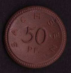 Image #1 of 50 Pfennig 1921 - Sachsen