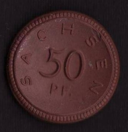 Imaginea #1 a 50 Pfennig 1921 - Sachsen