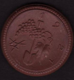 Image #2 of 50 Pfennig 1921 - Sachsen