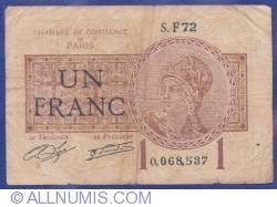 Imaginea #1 a 1 Franc 1919