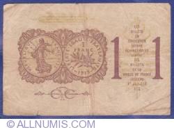 Imaginea #2 a 1 Franc 1919