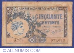 50 Centimes 1920