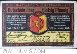 Image #1 of 50 Pfennig 1921 - Barntrup