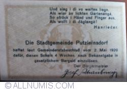 Image #2 of 20 Heller 1920 - Putzleinsdorf