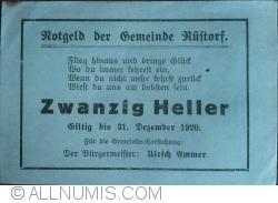 Image #2 of 20 Heller 1920 - Rüstorf