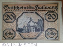 Imaginea #1 a 20 Heller 1920 - Hallwang
