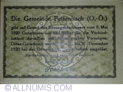 Image #2 of 50 Heller 1920 - Pettenbach