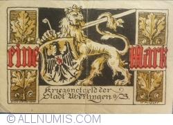 Image #1 of 1 Mark 1918 - Überlingen