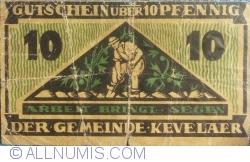 Image #1 of 10 Pfennig 1921 - Kevalaer