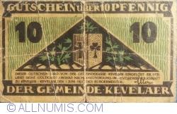 Image #2 of 10 Pfennig 1921 - Kevalaer
