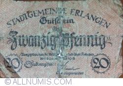 Image #1 of 20 Pfennig 1918 - Erlangen