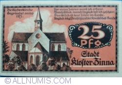 Image #1 of 25 Pfennig 1920 - Kloster Zinna