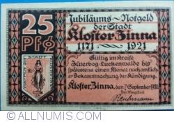 Image #2 of 25 Pfennig 1920 - Kloster Zinna