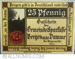 Image #1 of 25 Pfennig ND - Bergen an der Dumme
